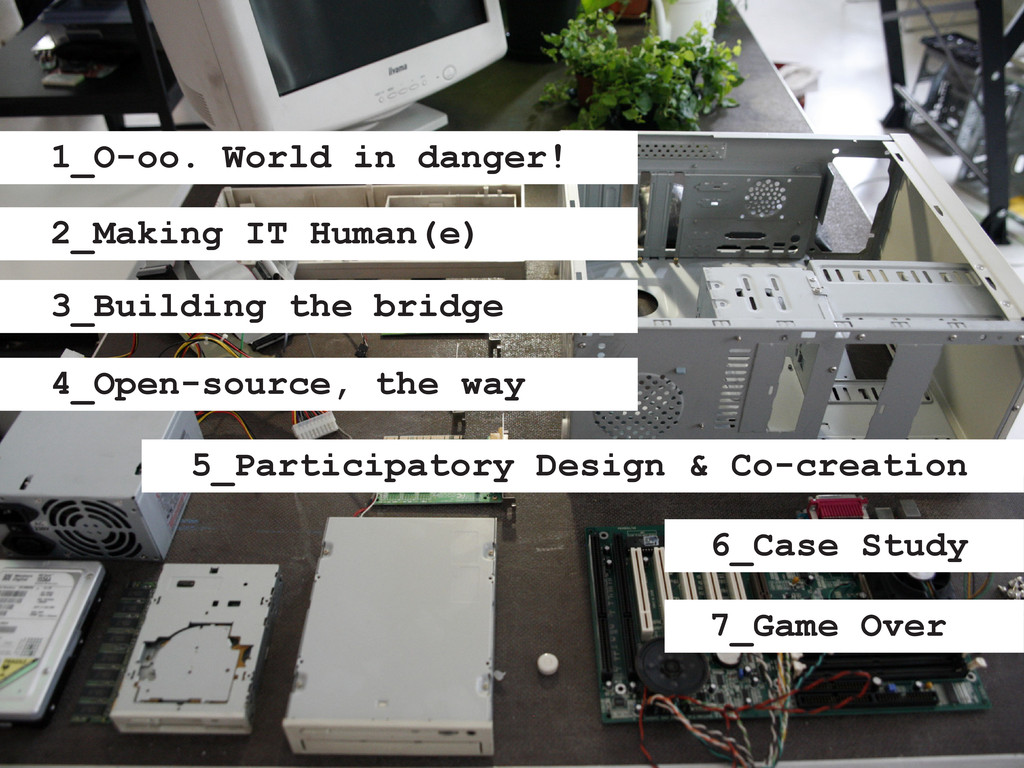 1_O-oo. World in danger! 2_Making IT Human(e) 3...