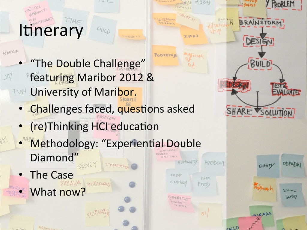 """I@nerary  • """"The Double Challenge"""" ..."""
