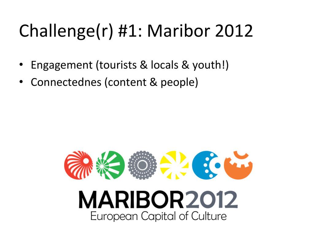 Challenge(r) #1: Maribor 2012  • E...