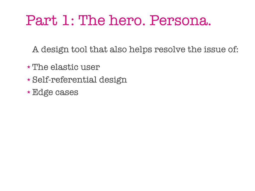 A design tool that also helps resolve the issue...