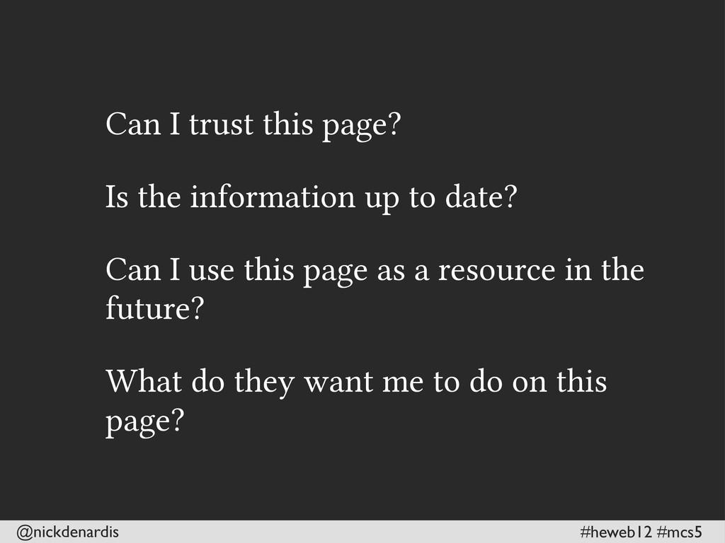 @nickdenardis #heweb12 #mcs5 Can I trust this p...