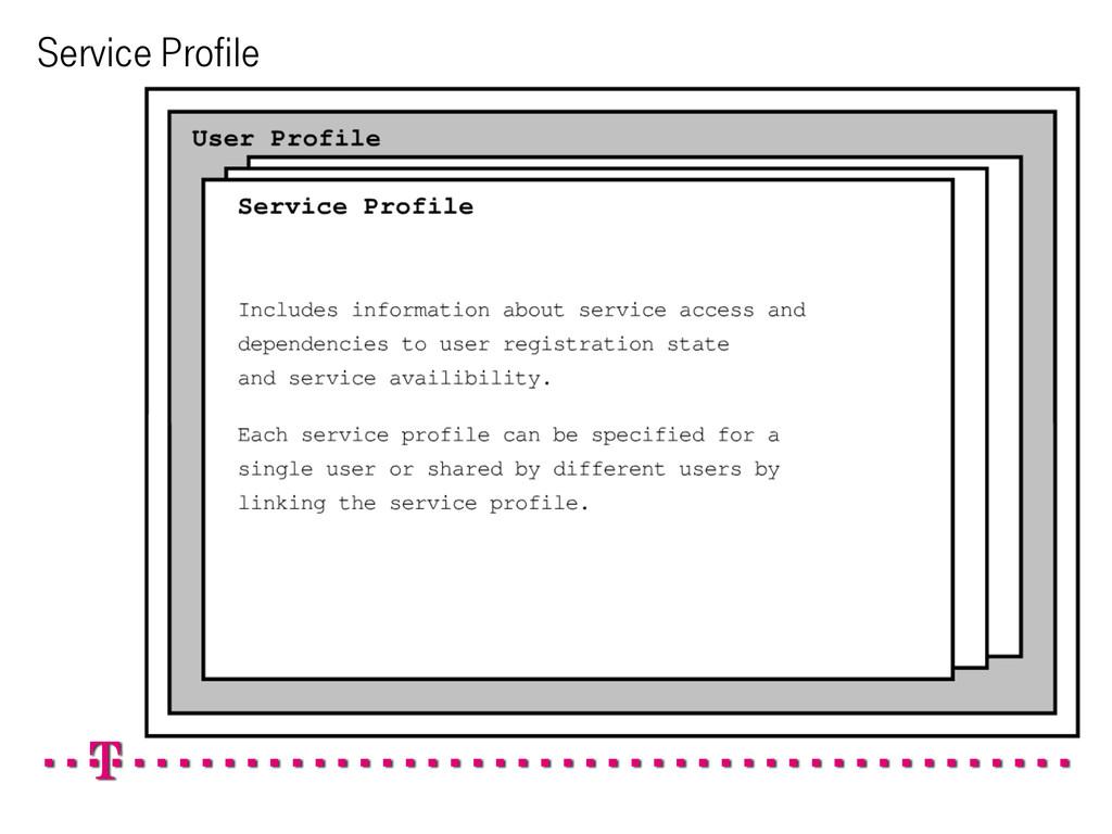 Service Profile