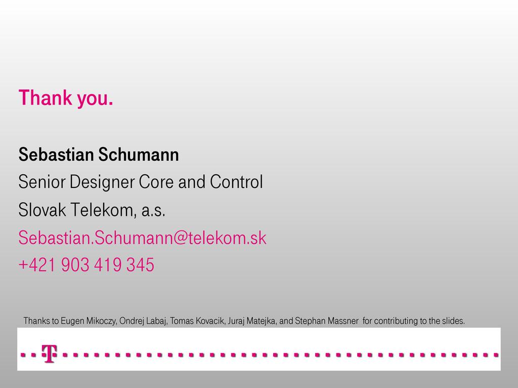 Thank you. Sebastian Schumann Senior Designer C...