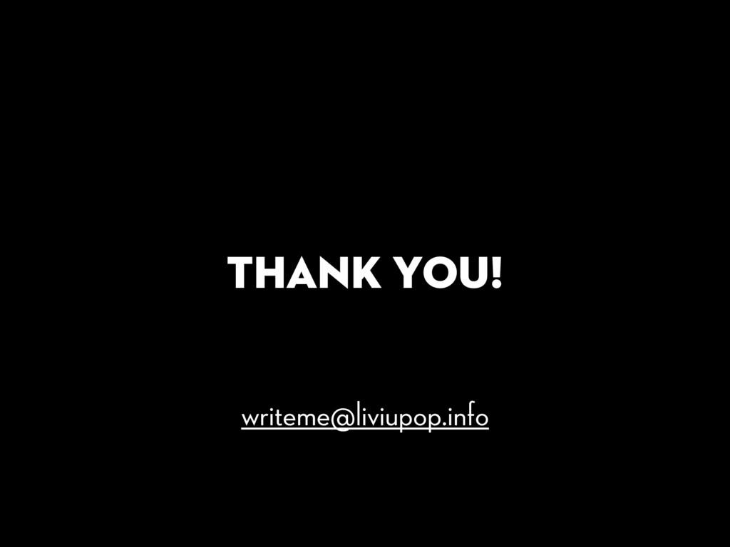 Thank you! writeme@liviupop.info