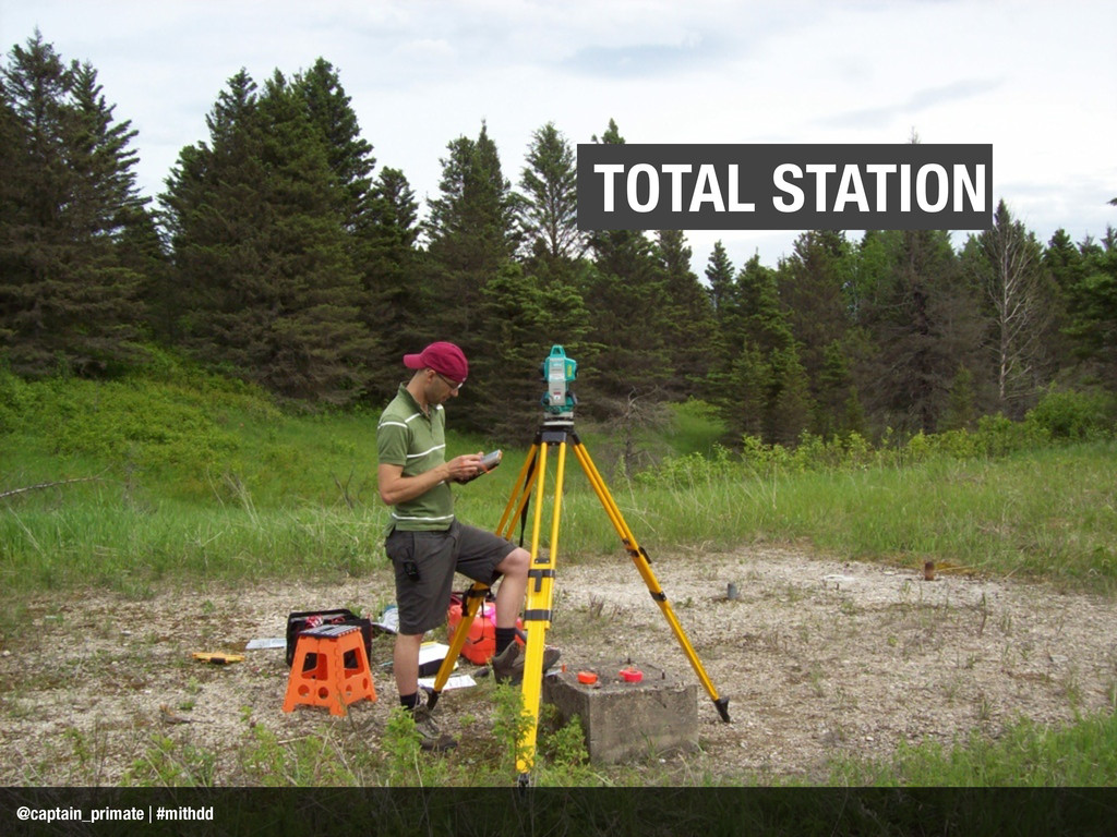 TOTAL STATION @captain_primate | #mithdd