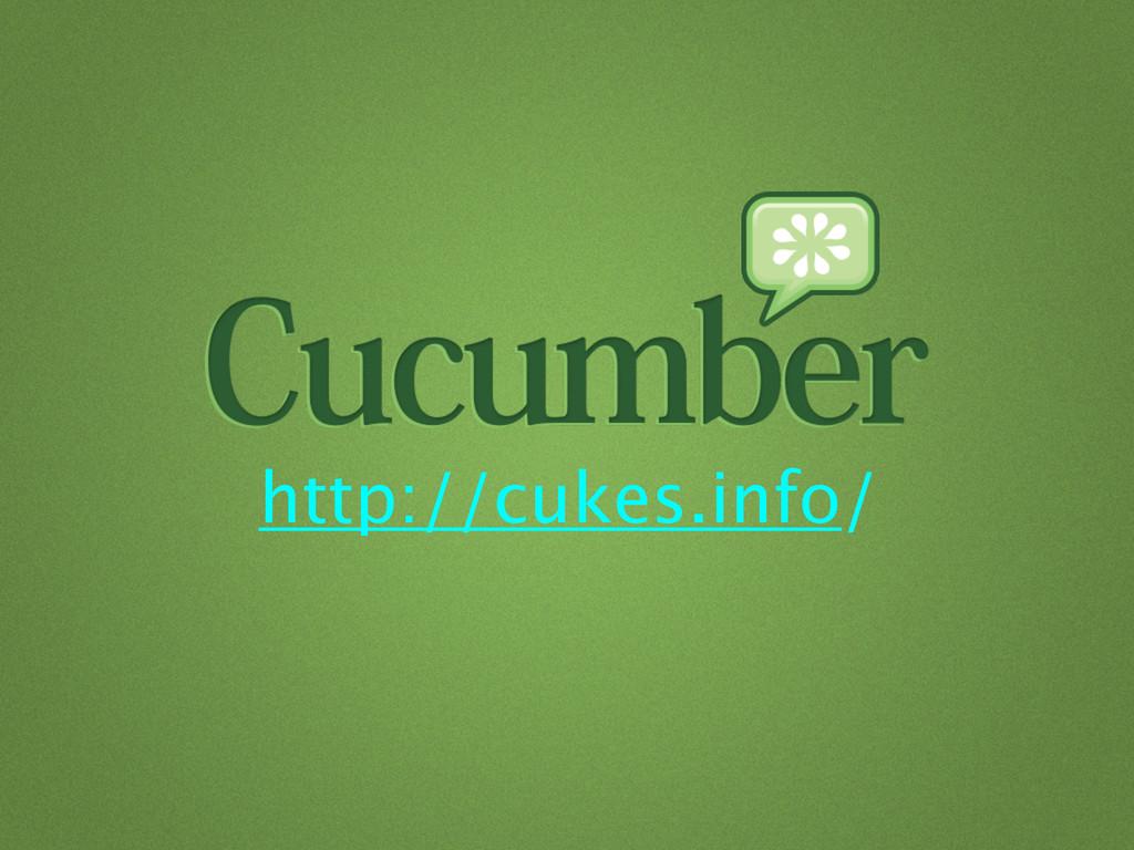 http://cukes.info/