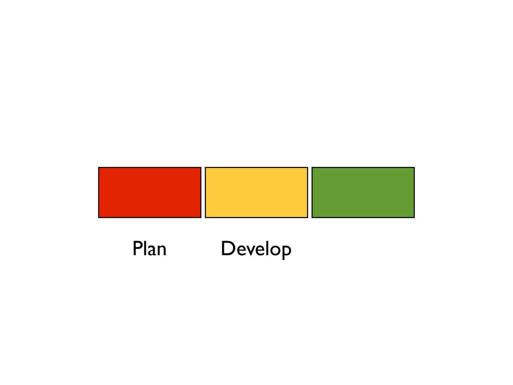 Plan Develop