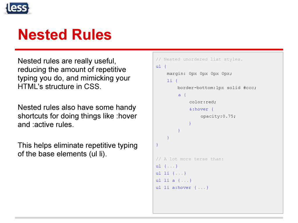 Nested Rules Nested rules are really useful, re...