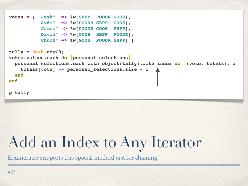 #57 Add an Index to Any Iterator Enumerator sup...