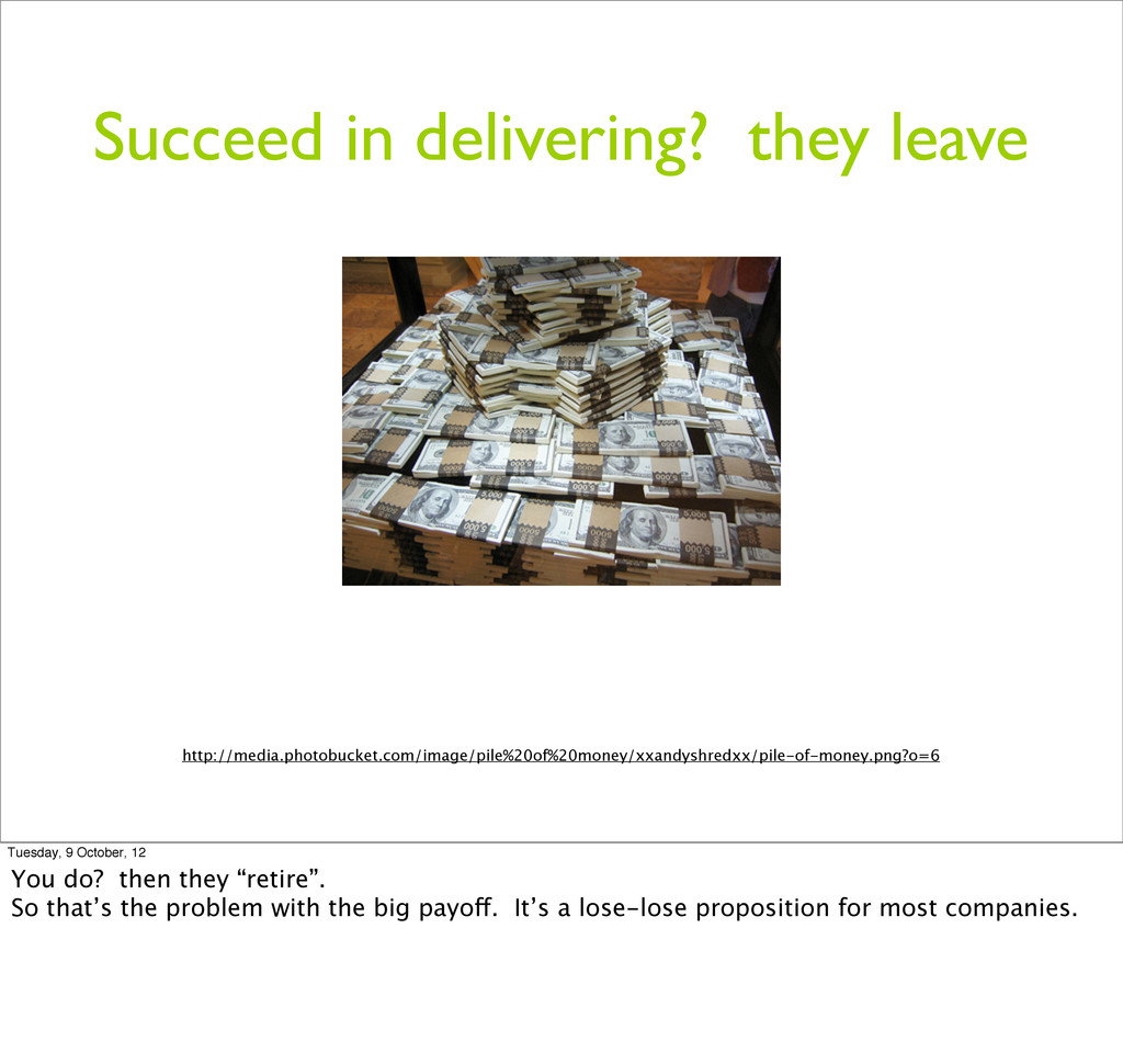 Succeed in delivering? they leave http://media....