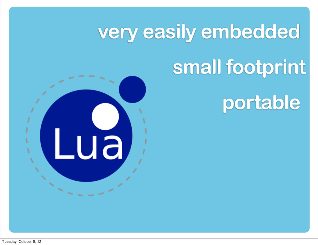 small footprint portable very easily embedded T...