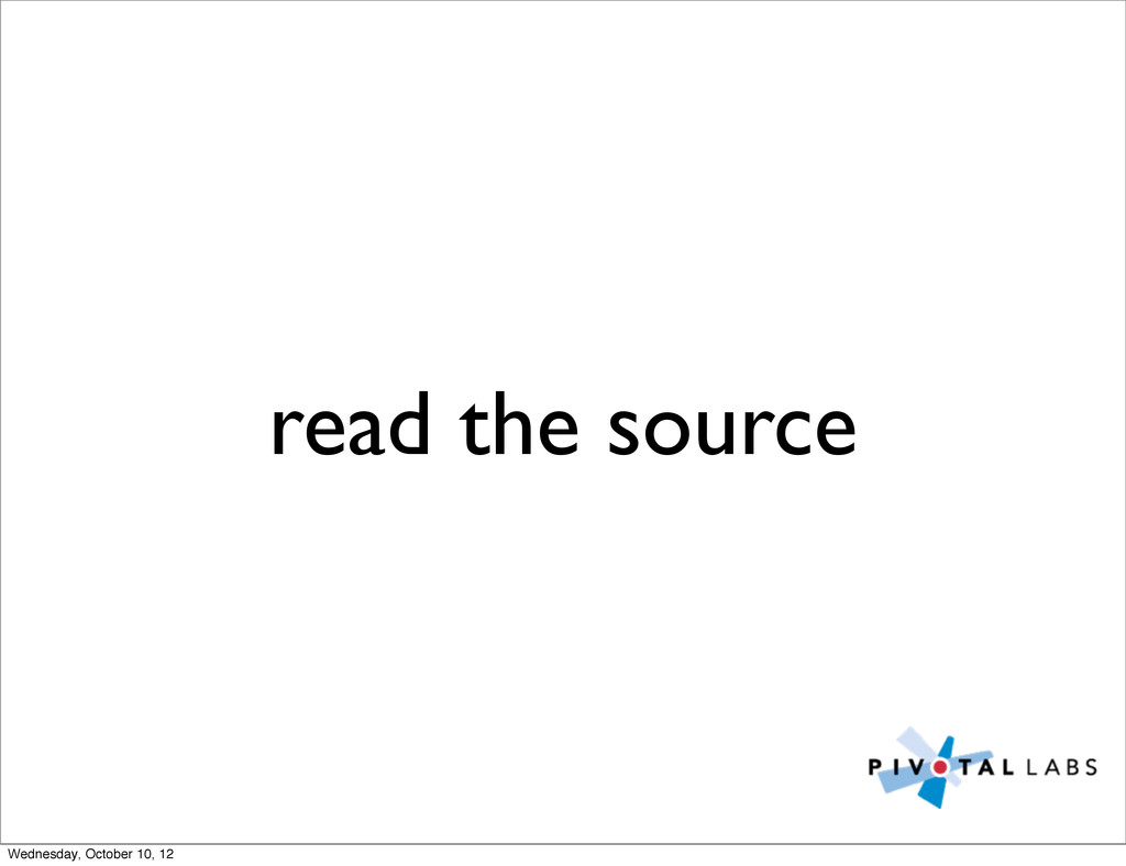 read the source Wednesday, October 10, 12
