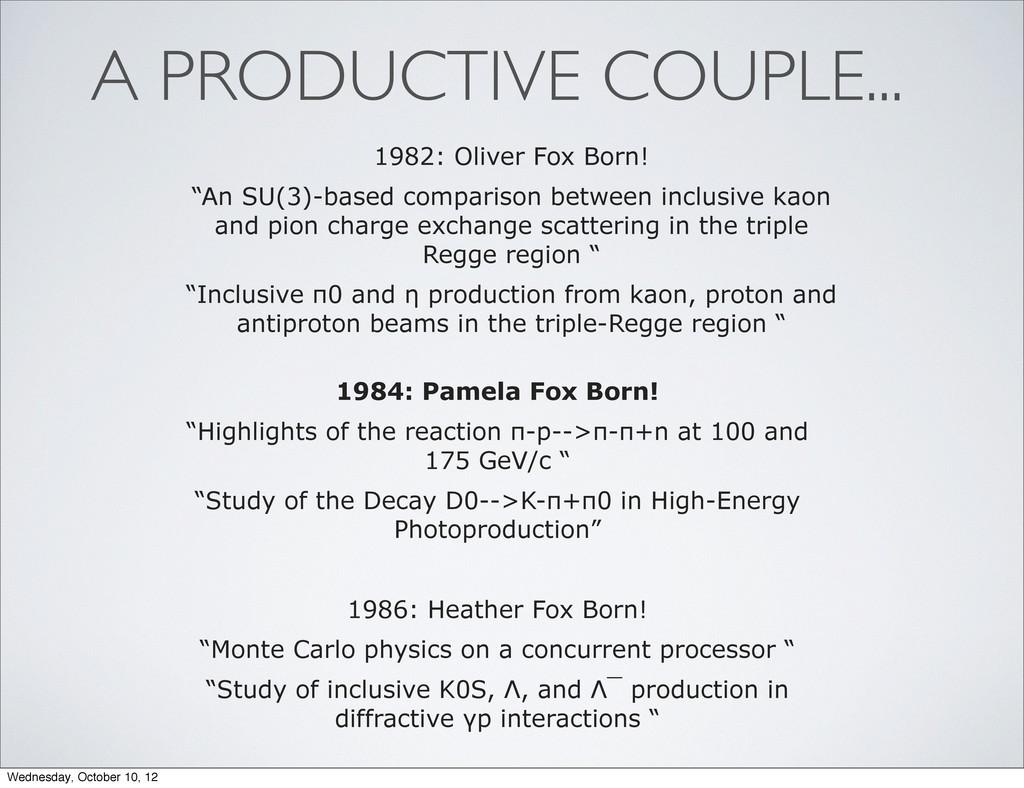 "1984: Pamela Fox Born! ""Highlights of the react..."