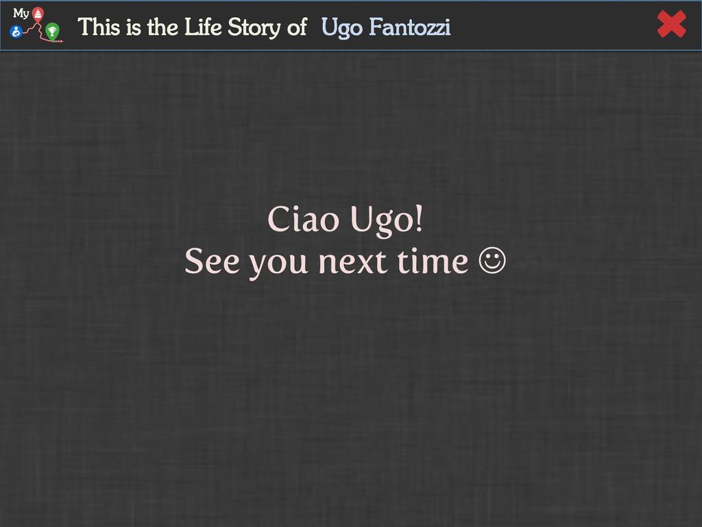 Ugo Fantozzi This is the Life Story of My Ciao ...