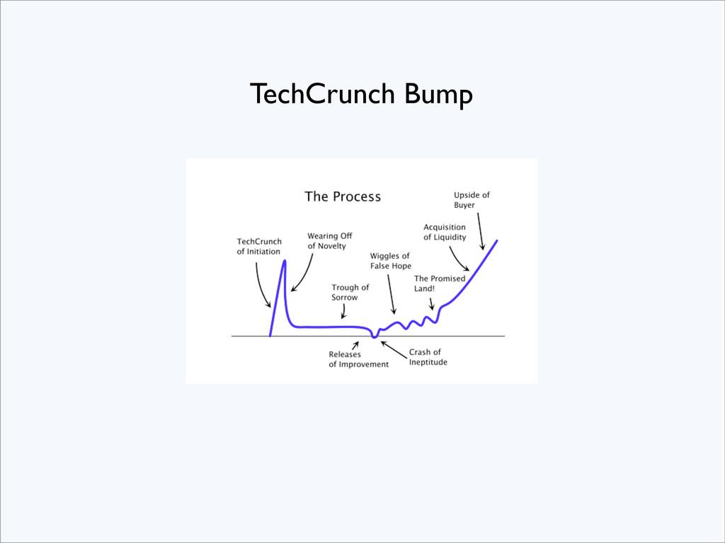 TechCrunch Bump