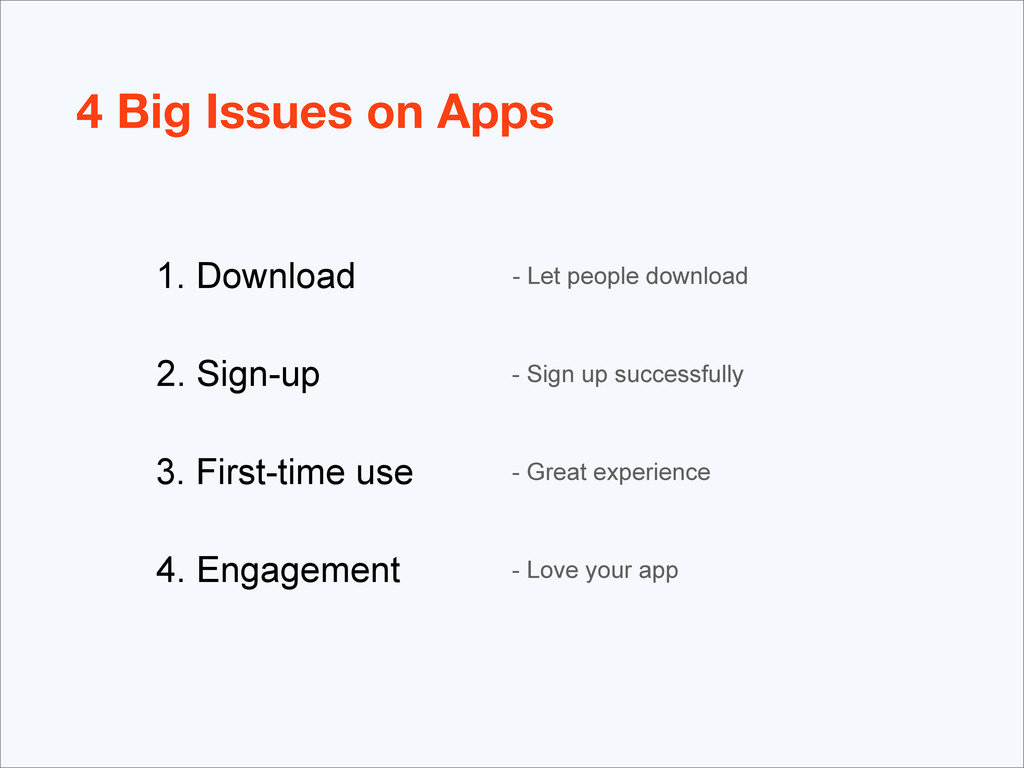 - Let people download - Sign up successfully - ...