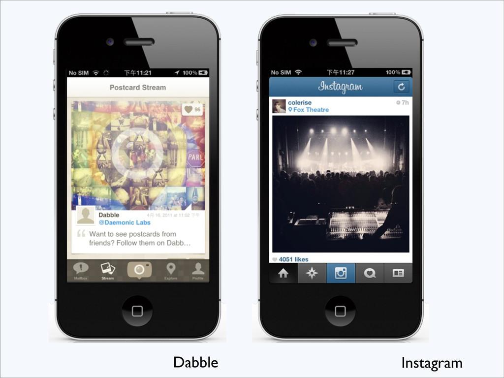 Dabble Instagram