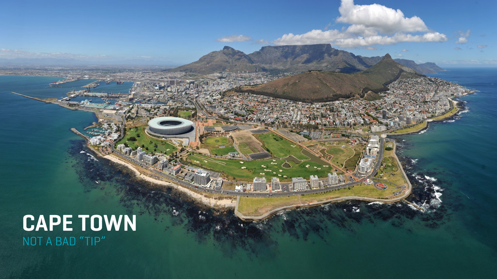 """NOT A BAD """"TIP"""" CAPE TOWN"""