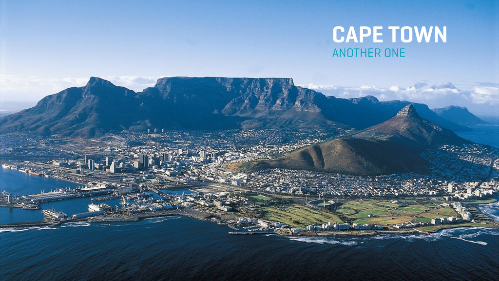 ANOTHER ONE CAPE TOWN