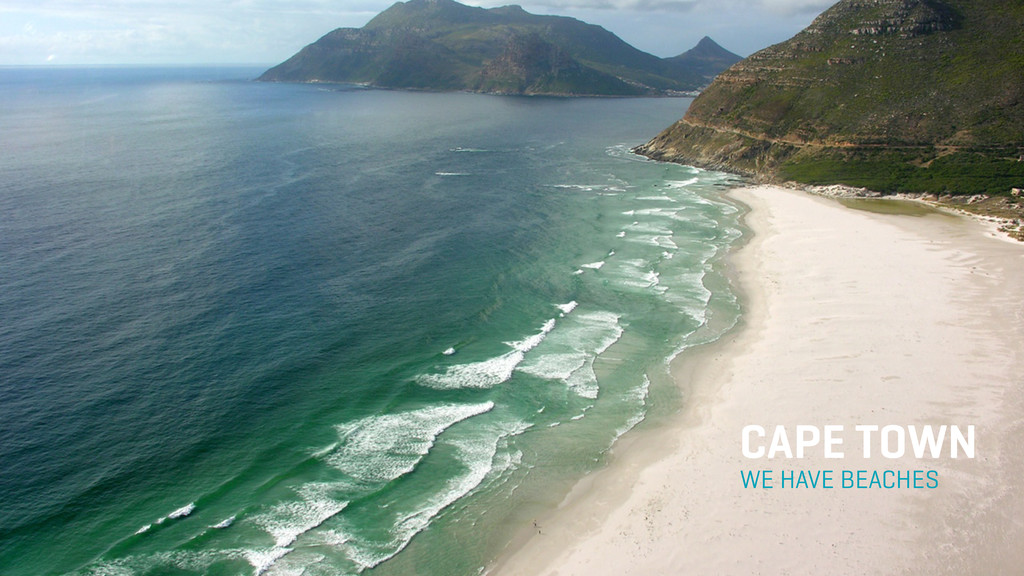 WE HAVE BEACHES CAPE TOWN