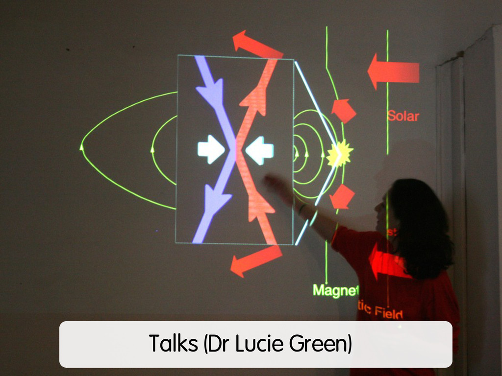 Talks (Dr Lucie Green)