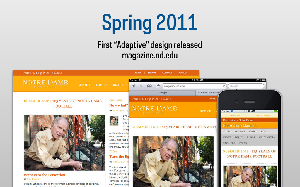 "Spring 2011 First ""Adaptive"" design released ma..."