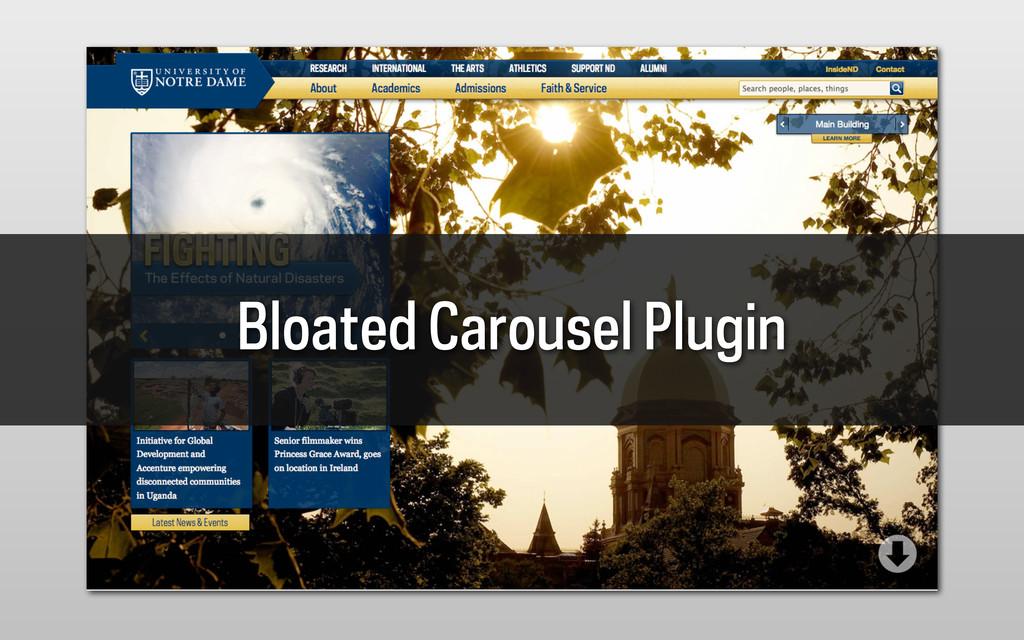 Bloated Carousel Plugin