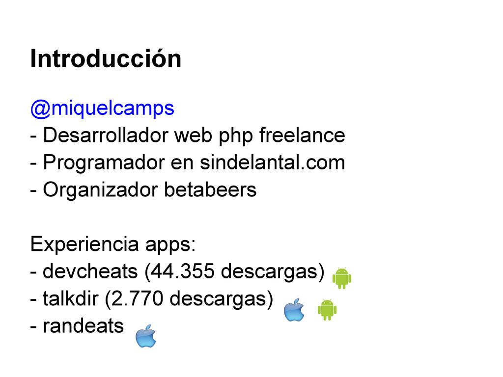 @miquelcamps - Desarrollador web php freelance ...
