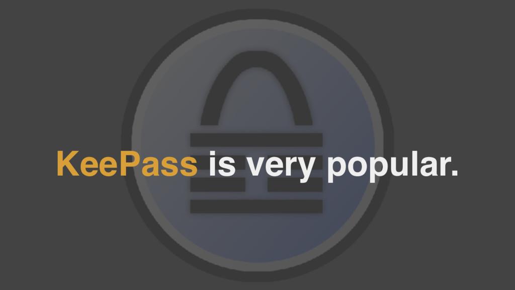 KeePass is very popular.