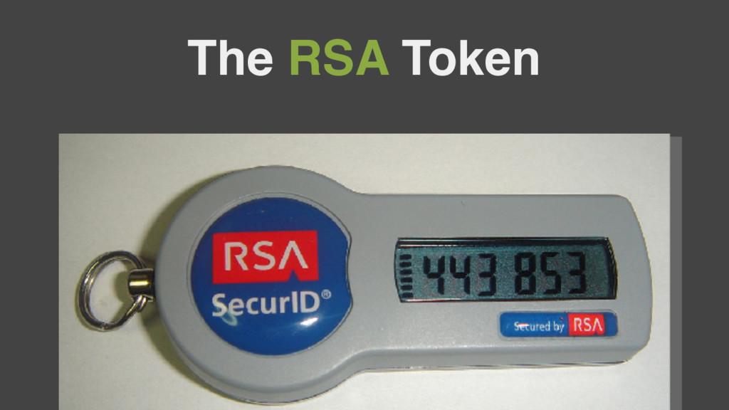 The RSA Token