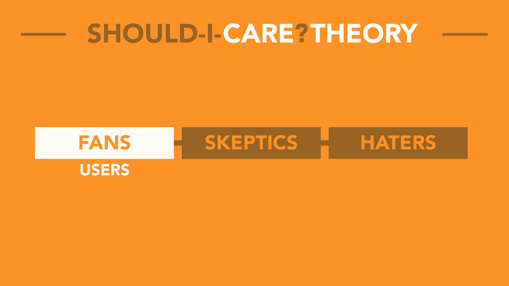 FANS SKEPTICS HATERS CARE THEORY SHOULD-I- ? US...