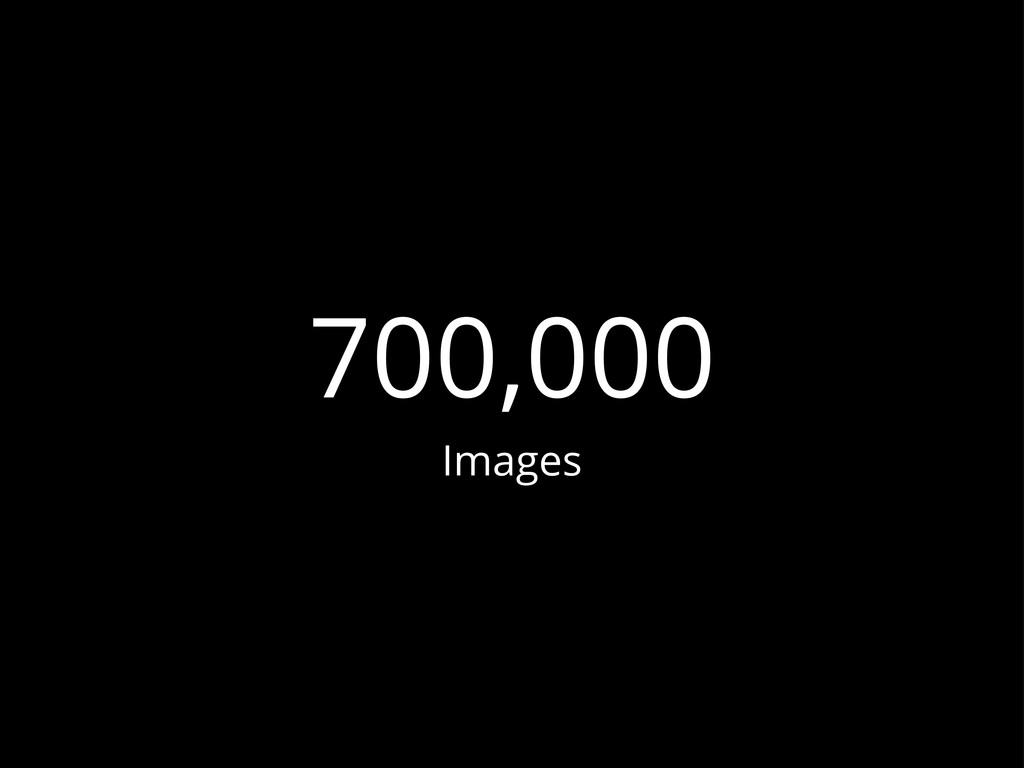700,000 Images