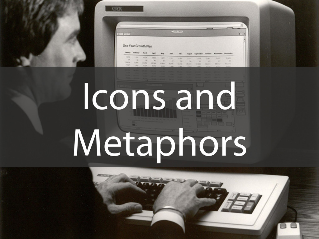 Icons and Metaphors