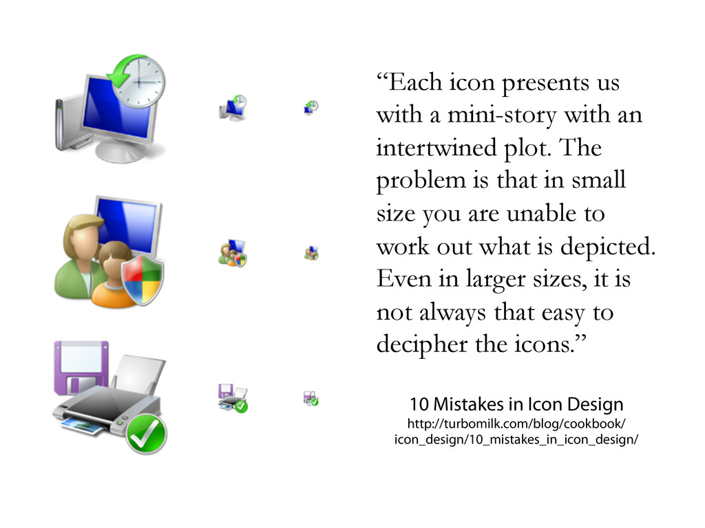 """""""Each icon presents us with a mini-story with a..."""