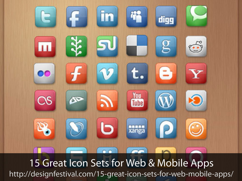 15 Great Icon Sets for Web & Mobile Apps http:/...