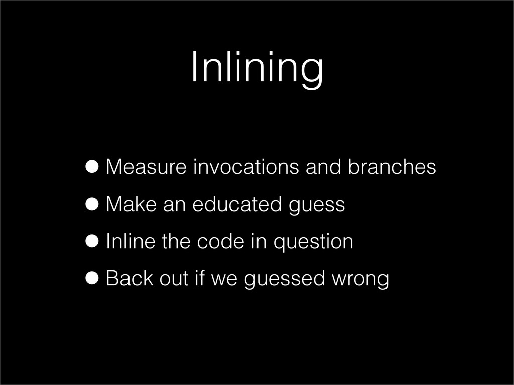 •Measure invocations and branches •Make an educ...