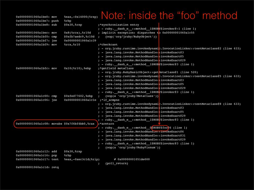 0x00000001060a1be0: mov %eax,-0x14000(%rsp) 0x0...