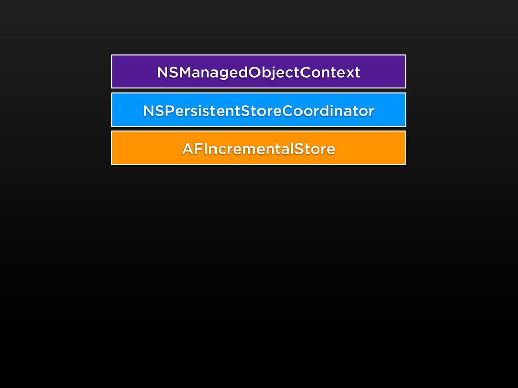 NSManagedObjectContext AFIncrementalStore NSPer...