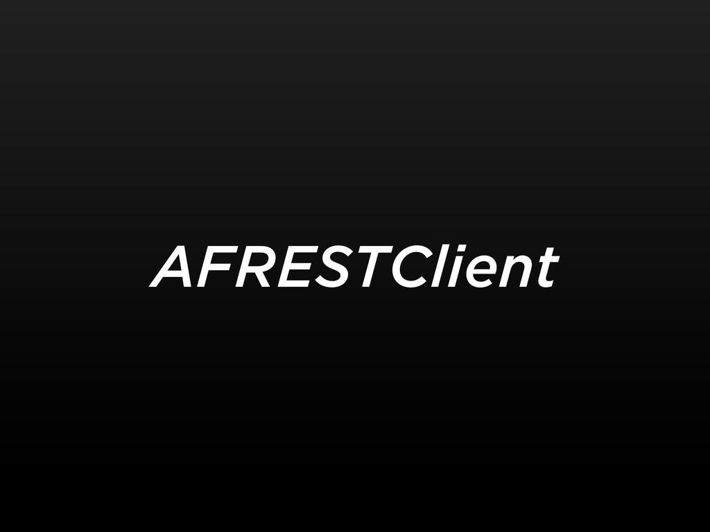 AFRESTClient