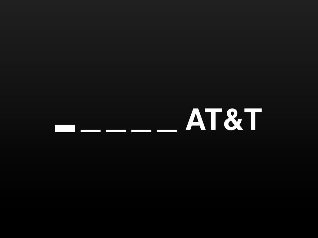 … … … … AT&T