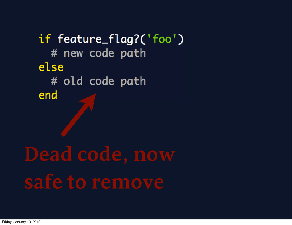 Dead code, now safe to remove Friday, January 1...