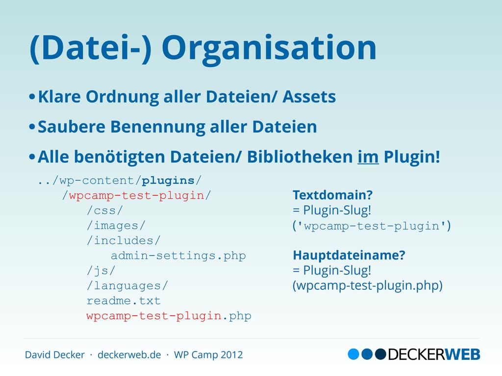 David Decker · deckerweb.de · WP Camp 2012 (Dat...
