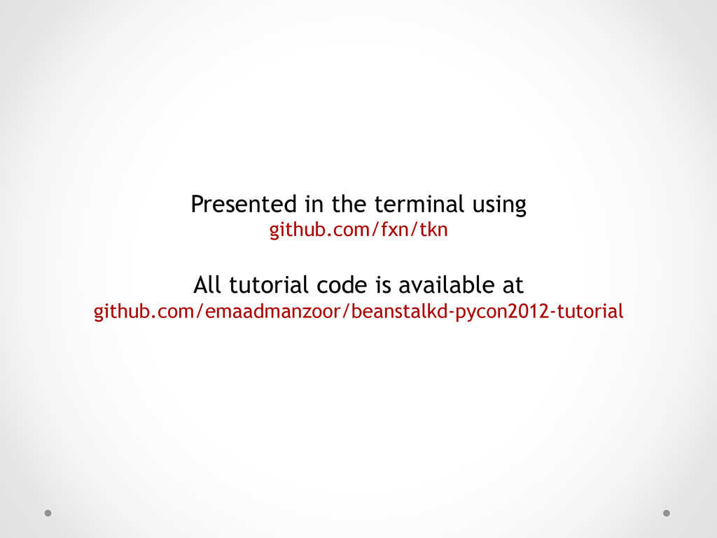 Presented in the terminal using github.com/fxn/...