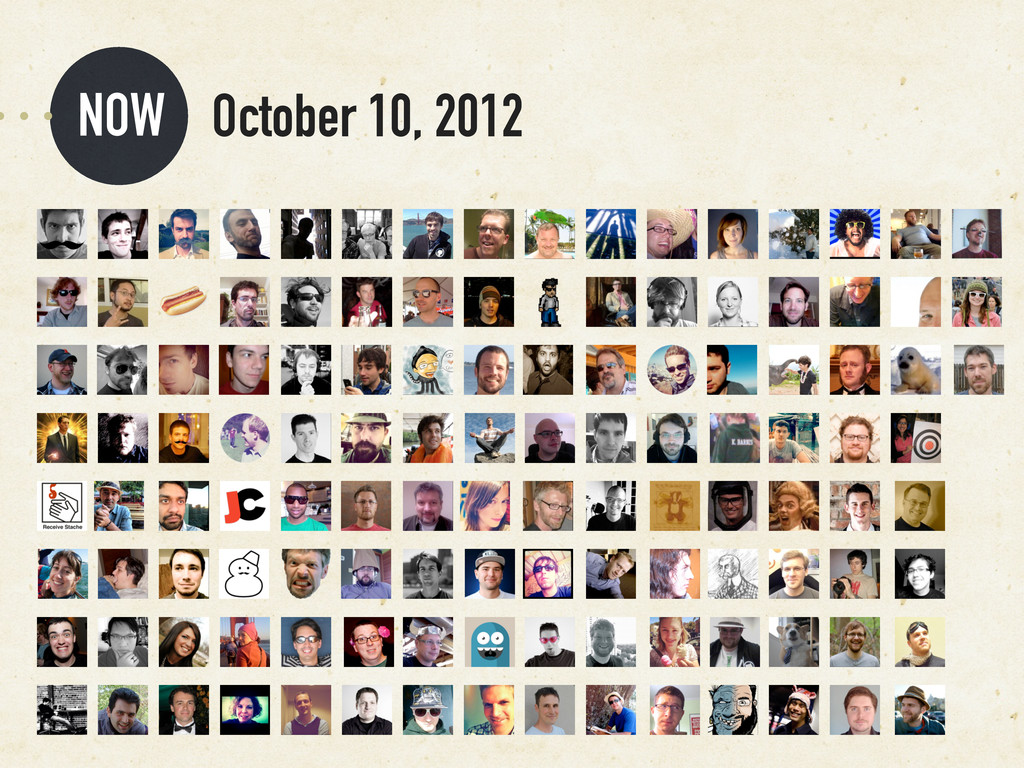 NOW October 10, 2012