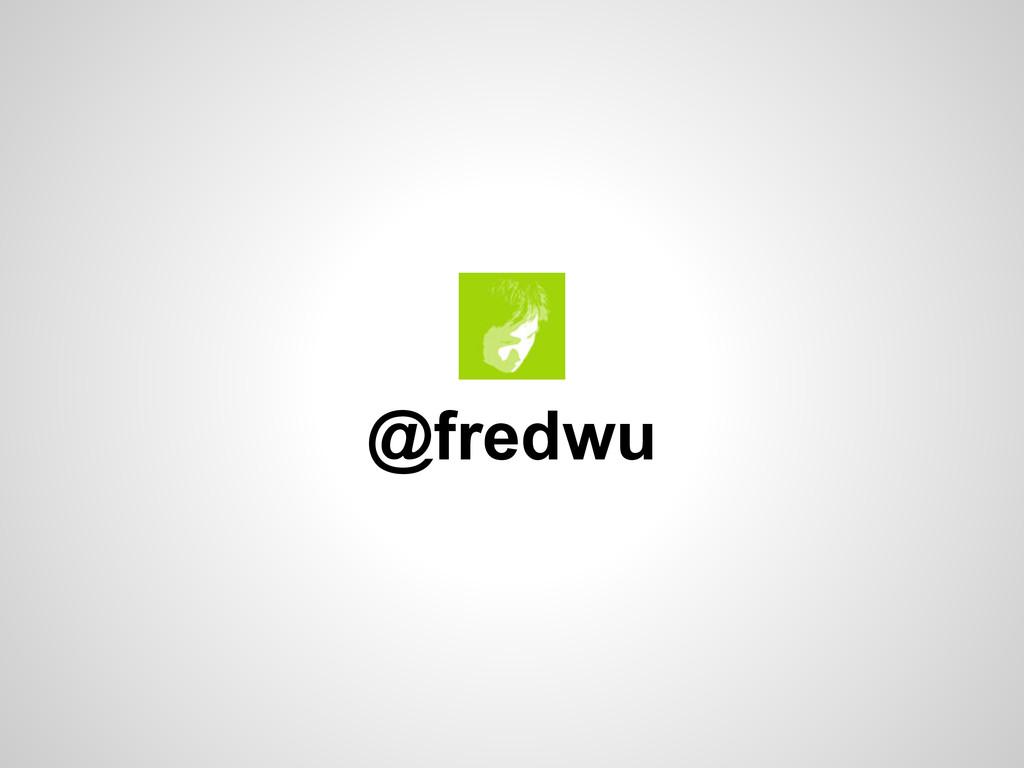@fredwu
