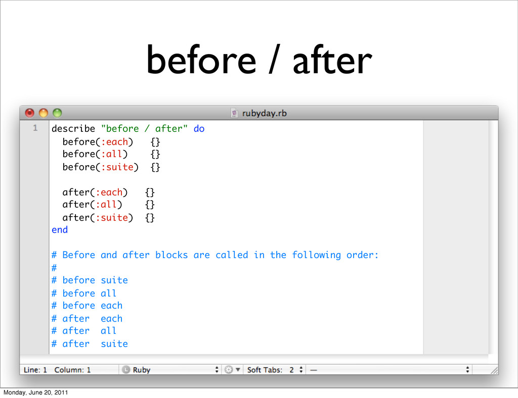 "before / after describe ""before / after"" do bef..."