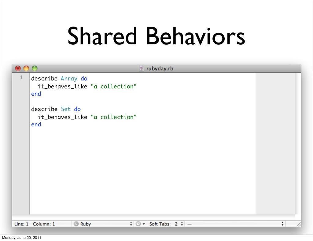 Shared Behaviors describe Array do it_behaves_l...
