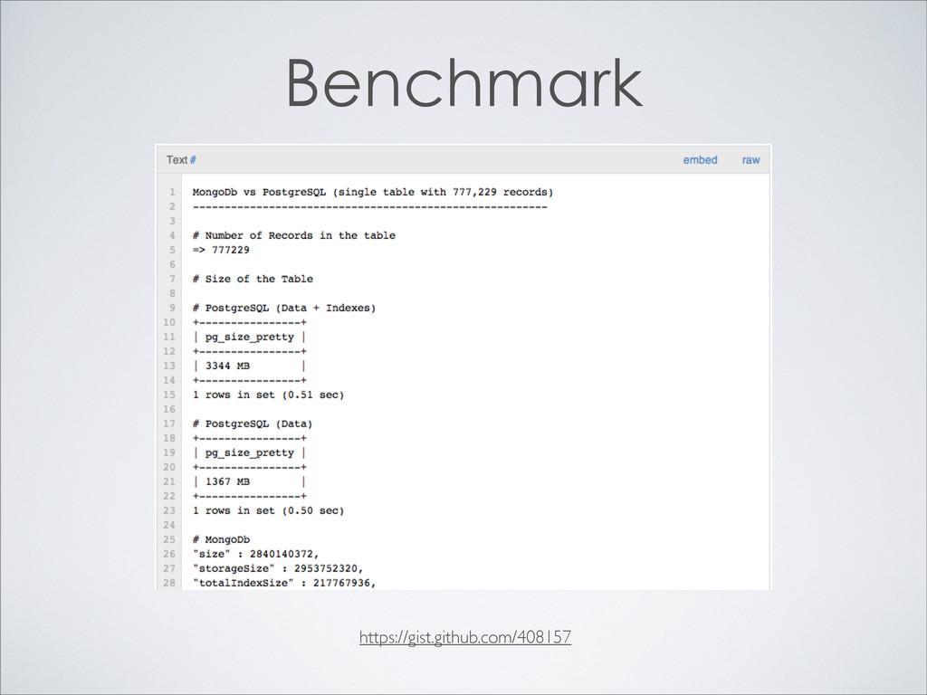 https://gist.github.com/408157 Benchmark