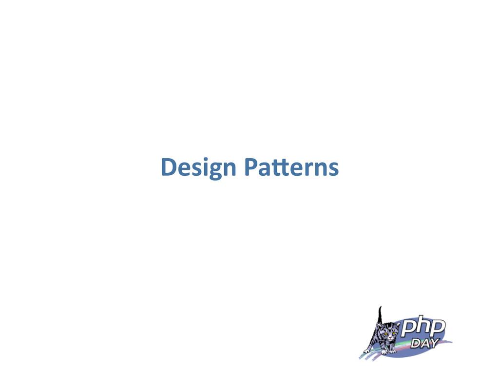Design Pa0erns