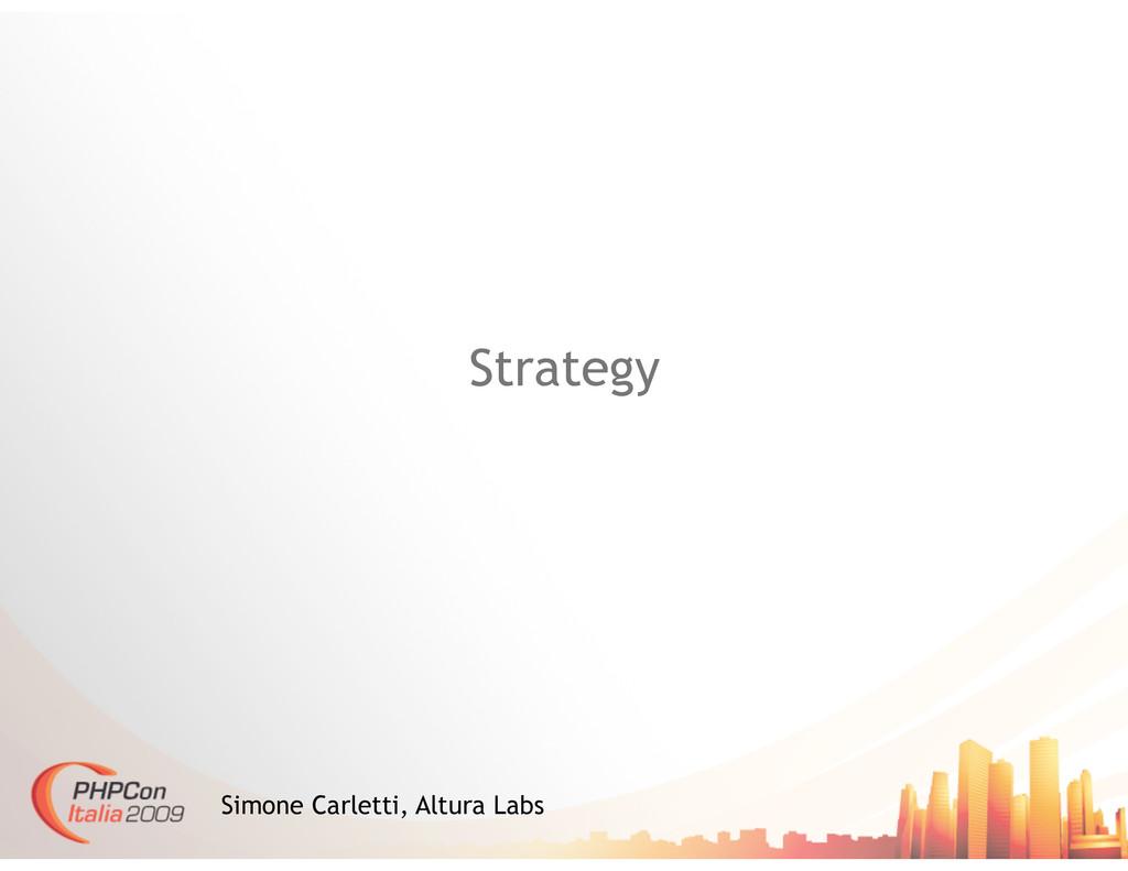 Strategy Simone Carletti, Altura Labs